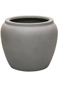 Кашпо waterjar round grey d50 h41 см