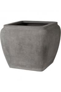 Кашпо waterjar square grey l65 w65 h53 см
