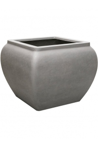Кашпо waterjar square grey l80 w80 h65 см