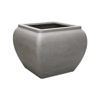 Кашпо waterjar square grey l80 w80 h65 см