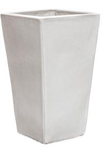 Кашпо white kubis l33 w33 h60 см