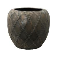 Кашпо wire (grc) emperor copper grey d55 h50 см