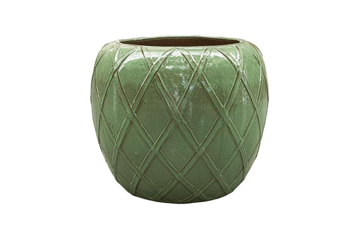 Кашпо wire) globe garden green d68 h59 см