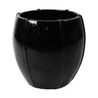 Кашпо black shiny emperor (moda) d55 h55 см