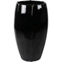Кашпо black shiny emperor (moda) d53 h92 см