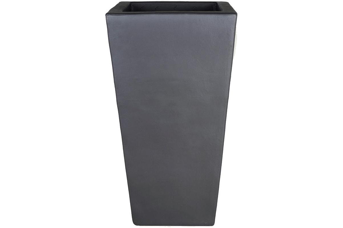 Кашпо anthracite kubis l33 w33 h60 см