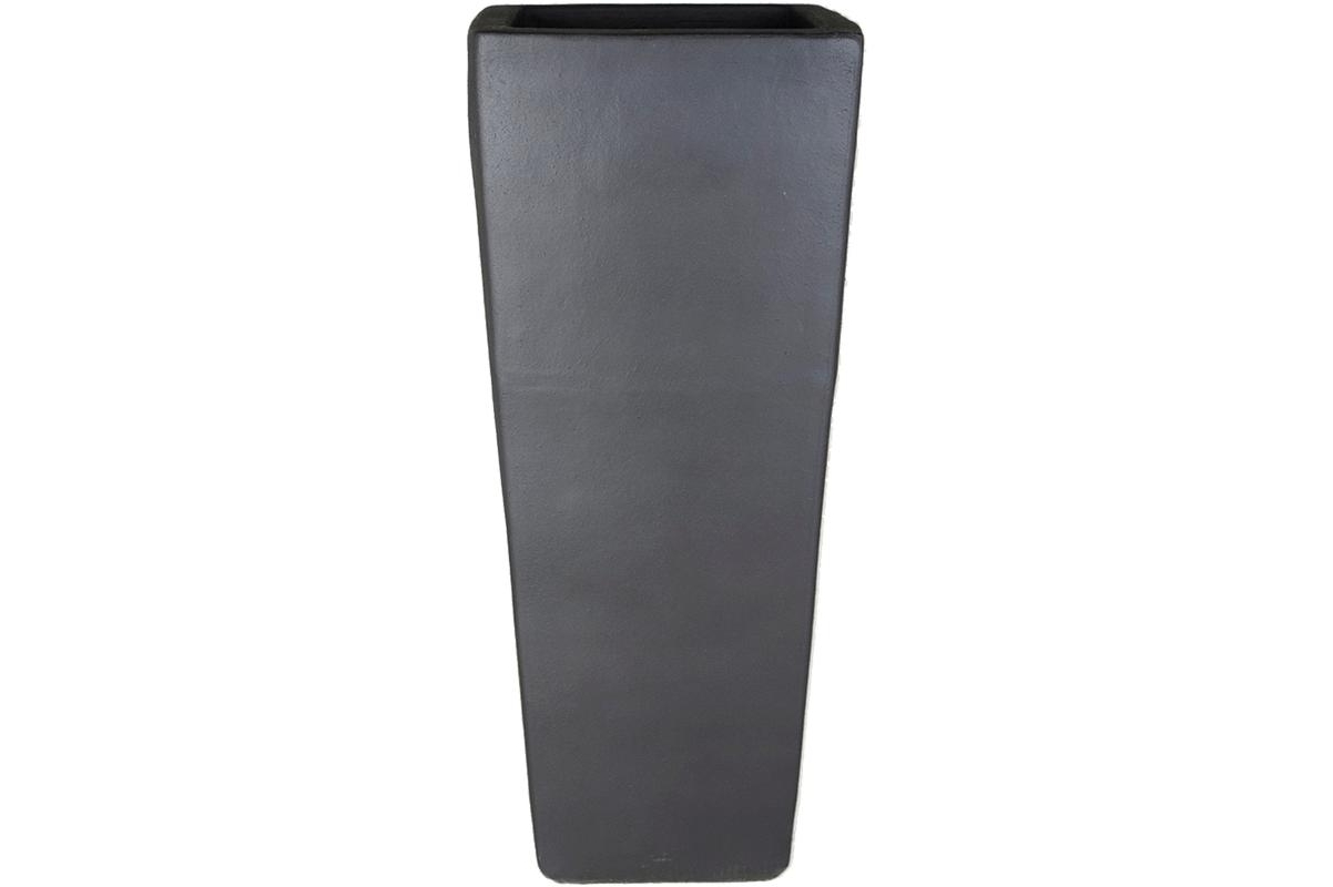 Кашпо anthracite kubis l36 w36 h90 см