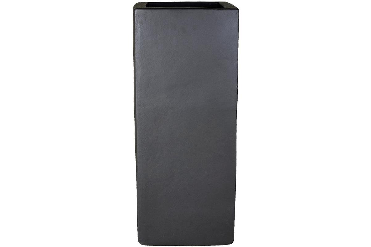 Кашпо anthracite square l36 w36 h90 см
