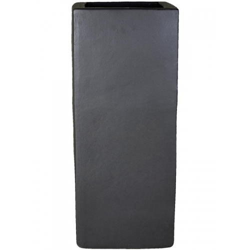Кашпо anthracite square l36 w36 h90 см