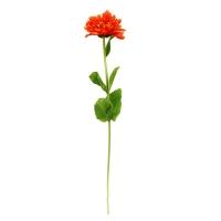 Циния искусственная оранжевая 55 см