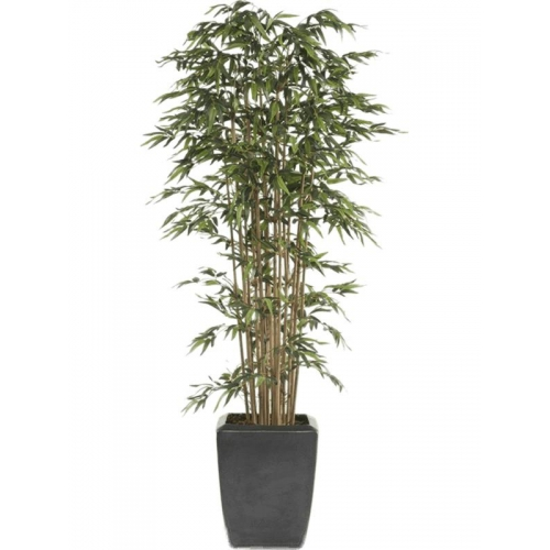 Бамбуковое дерево в пластиковом горшке искусственное h175 см