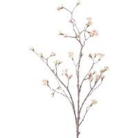 Ветка кленовая с розовыми почками искусственная h110 см