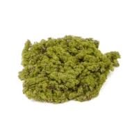 Моховой лист зелено-коричневый искусственный d20 см