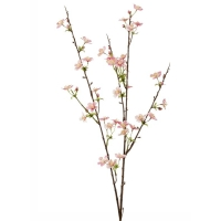 Ветвь яблони с цветами искусственная h85 см