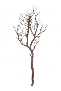Ветка коричневая искусственная h90 см