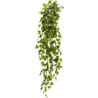 Плющ ампельный зелёный искусственный h75 см