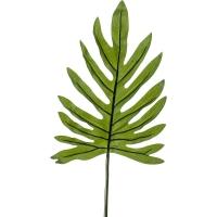 Лист филондендрона искусственный h100 см