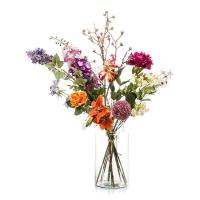 Букет искусственный xl flower bomb 12 ветвей (без вазы) h100 см