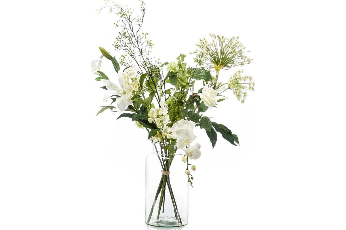 Букет искусственный xl shine 12 ветвей (без вазы) h90 см