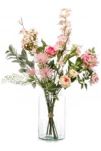 Букет искусственный xl pretty pink 13 ветвей (без вазы) h80 см