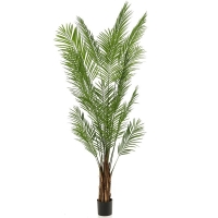 Бетелевая пальма арека искусственная w55 h240 см