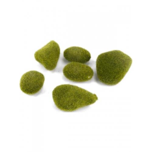 Моховой камень зелёный искусственный