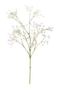 Гипсофила ветвь белая искусственная h65 см