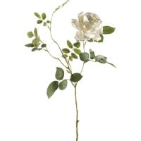 Роза диана белая искусственная h75 см