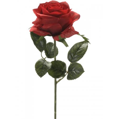 Роза симона красная искусственная h45 см