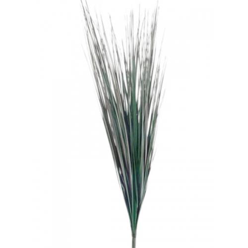 Трава зеленый куст искусственная h60 см