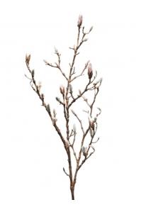 Магнолия ветвь с почками и розовыми бутонами искусственная h100 см