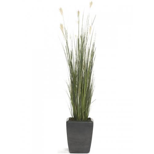 Трава пампасная искусственная h120 см