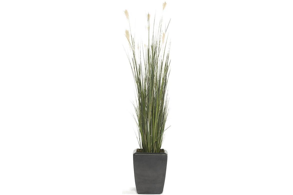 Трава пампасная искусственная h150 см