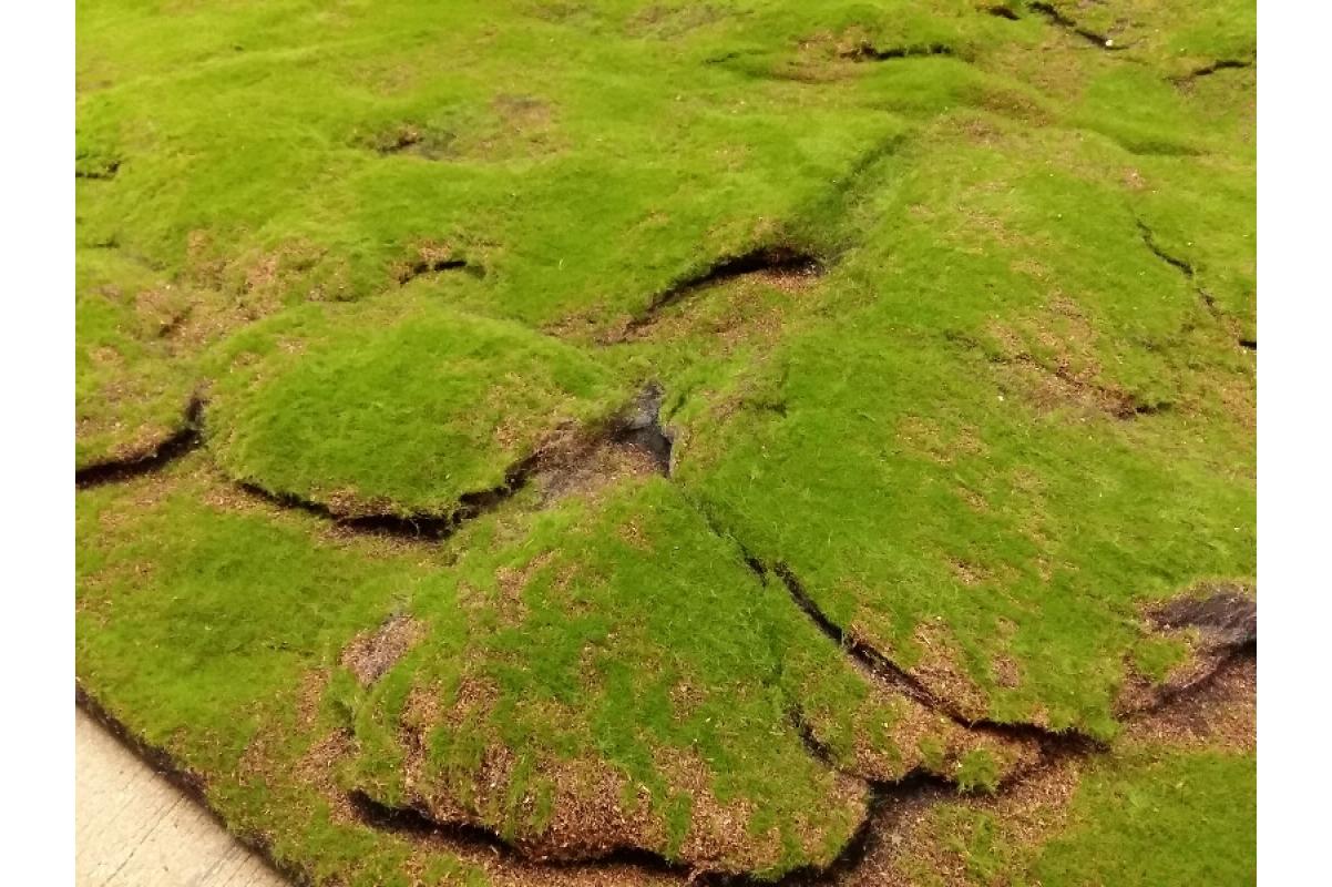 Мох рулонный искусственный горный 200*100 см - Фото 3