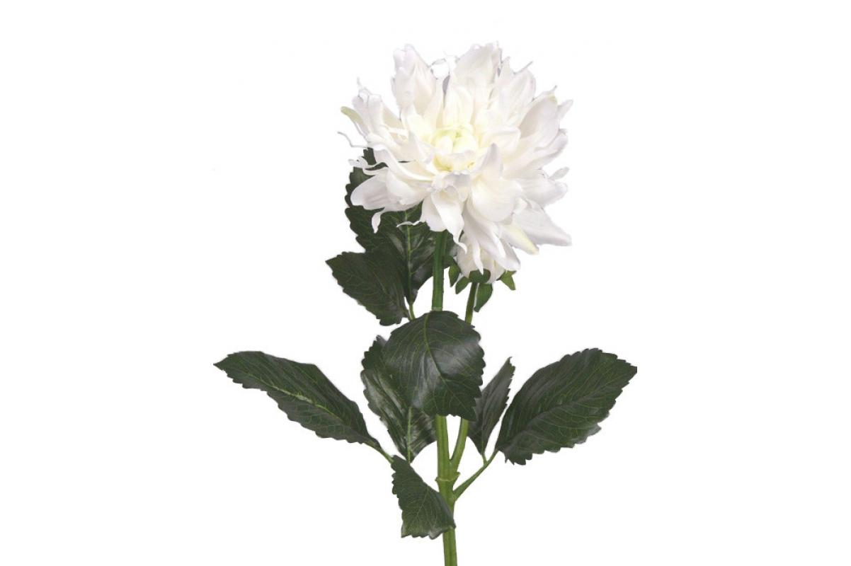Георгин искусственный белый 75 см