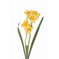 Нарцисс искусственный желтый 53 см