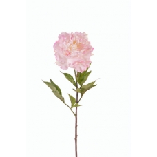 """Пион """"Britt"""" искусственный нежно-розовый 80 см (Real Touch)"""
