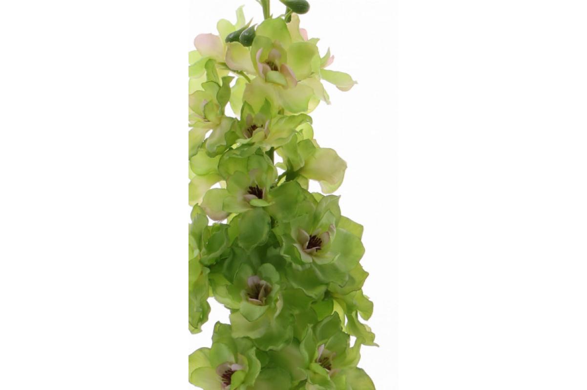 """Дельфиниум """"Jumbo"""" искусственный зеленый 95 см - Фото 2"""