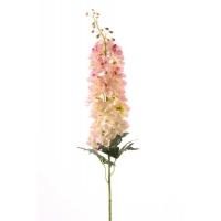 """Дельфиниум """"Jumbo"""" искусственный бело-розовый 95 см"""