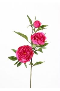 """Пион """"Spring Dream"""" искусственный темно-розовый 73 см"""