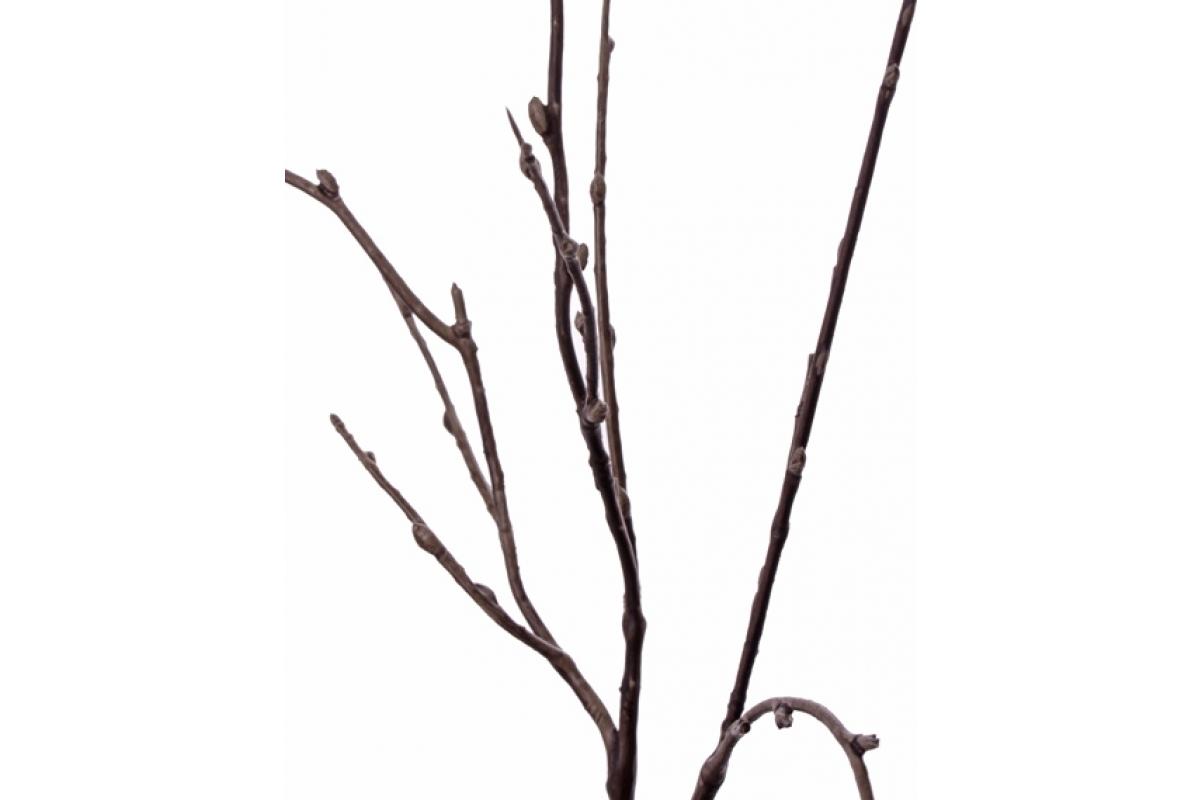 Ветка Ретро Романс декоративная искусственная 64 см - Фото 2