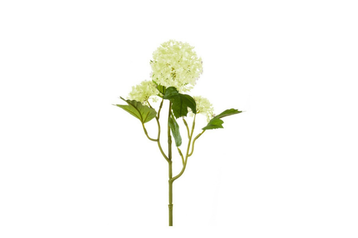 Калина Бульдонеж (Вибурнум) искусственная светло-зеленая 45 см