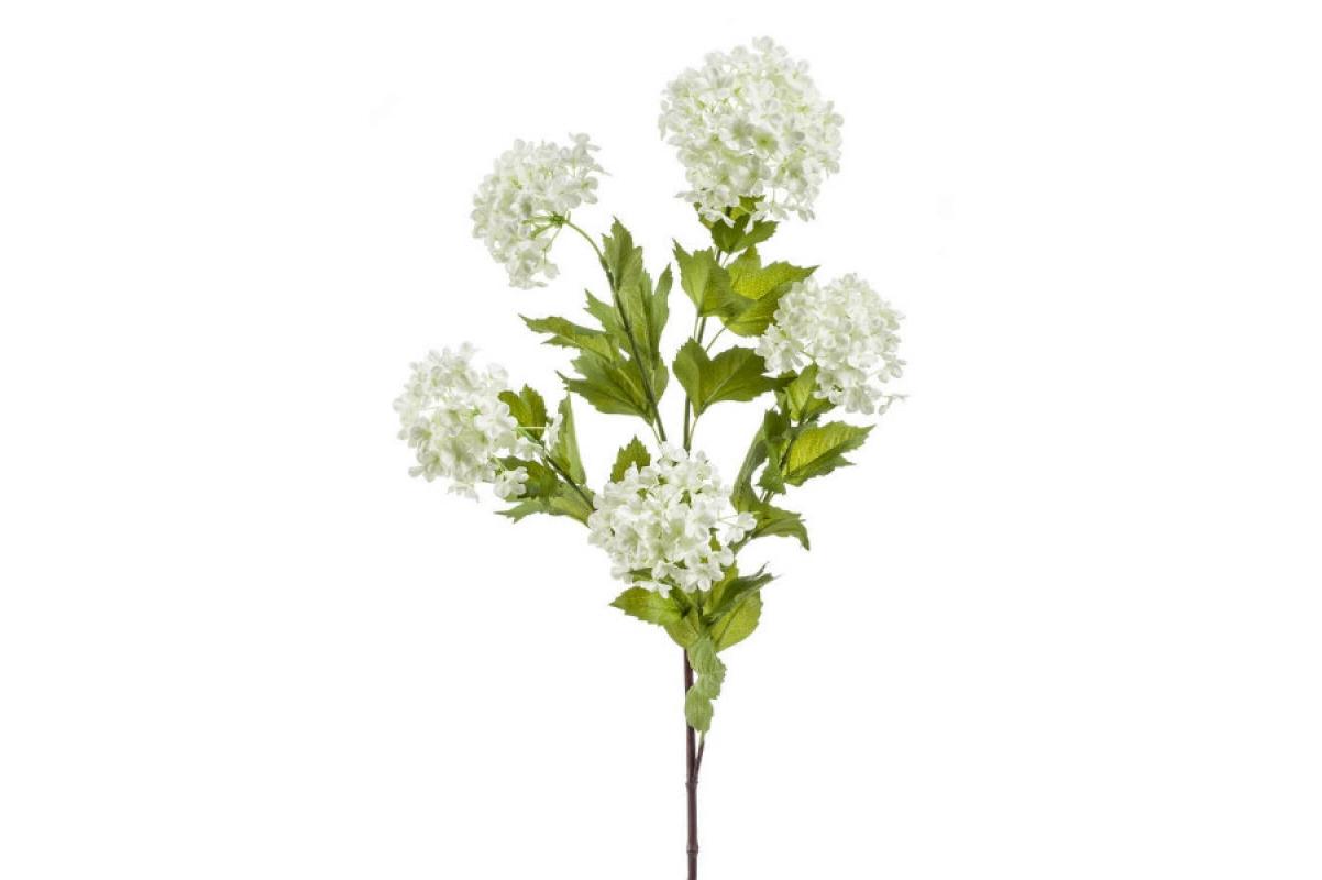 Калина Бульдонеж (Вибурнум) искусственная белая 85 см