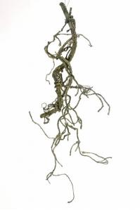 Ветка декоративная искусственная коричневая 43 см