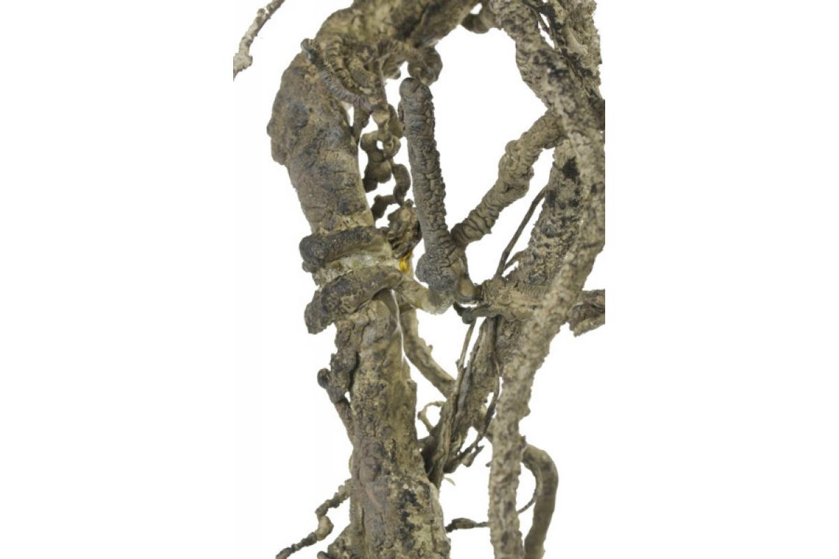 Ветка декоративная искусственная коричневая 43 см - Фото 2