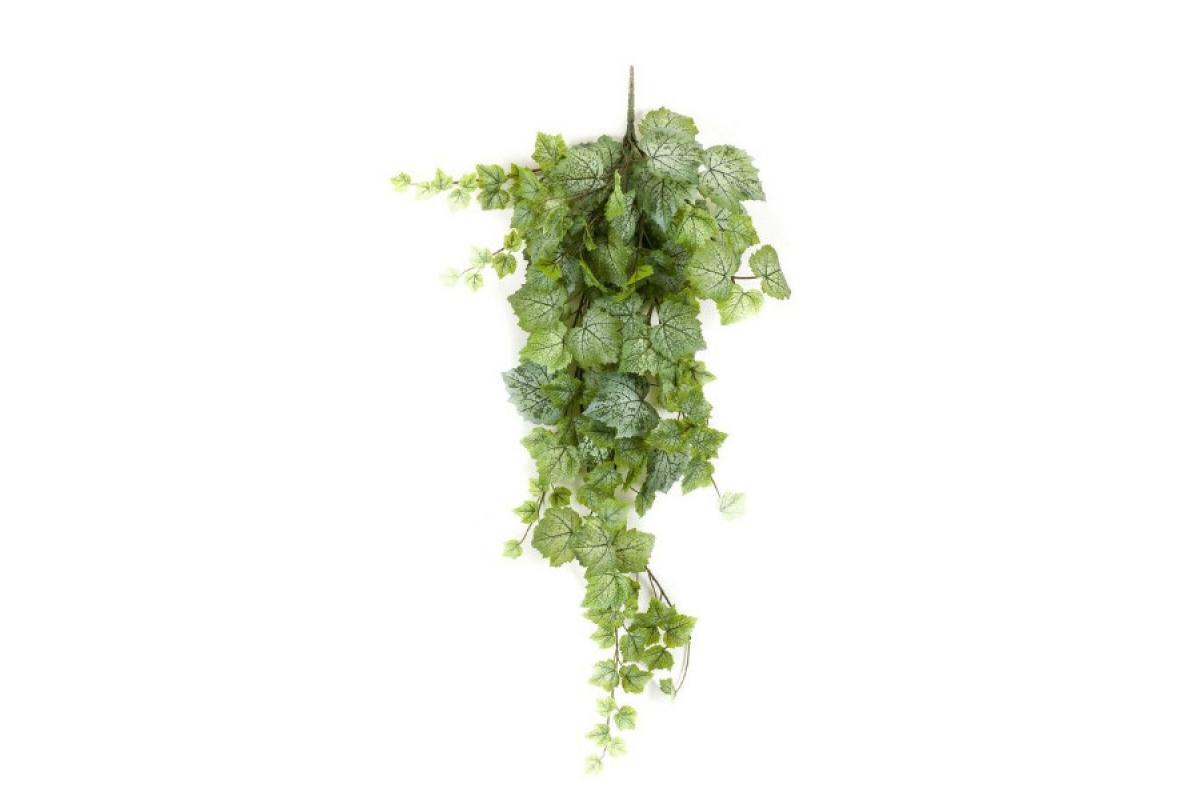 Виноградный Куст искусственный ампельный зелено-белый 100 см