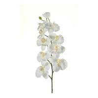 Орхидея Фаленопсис искусственная белая 100 см