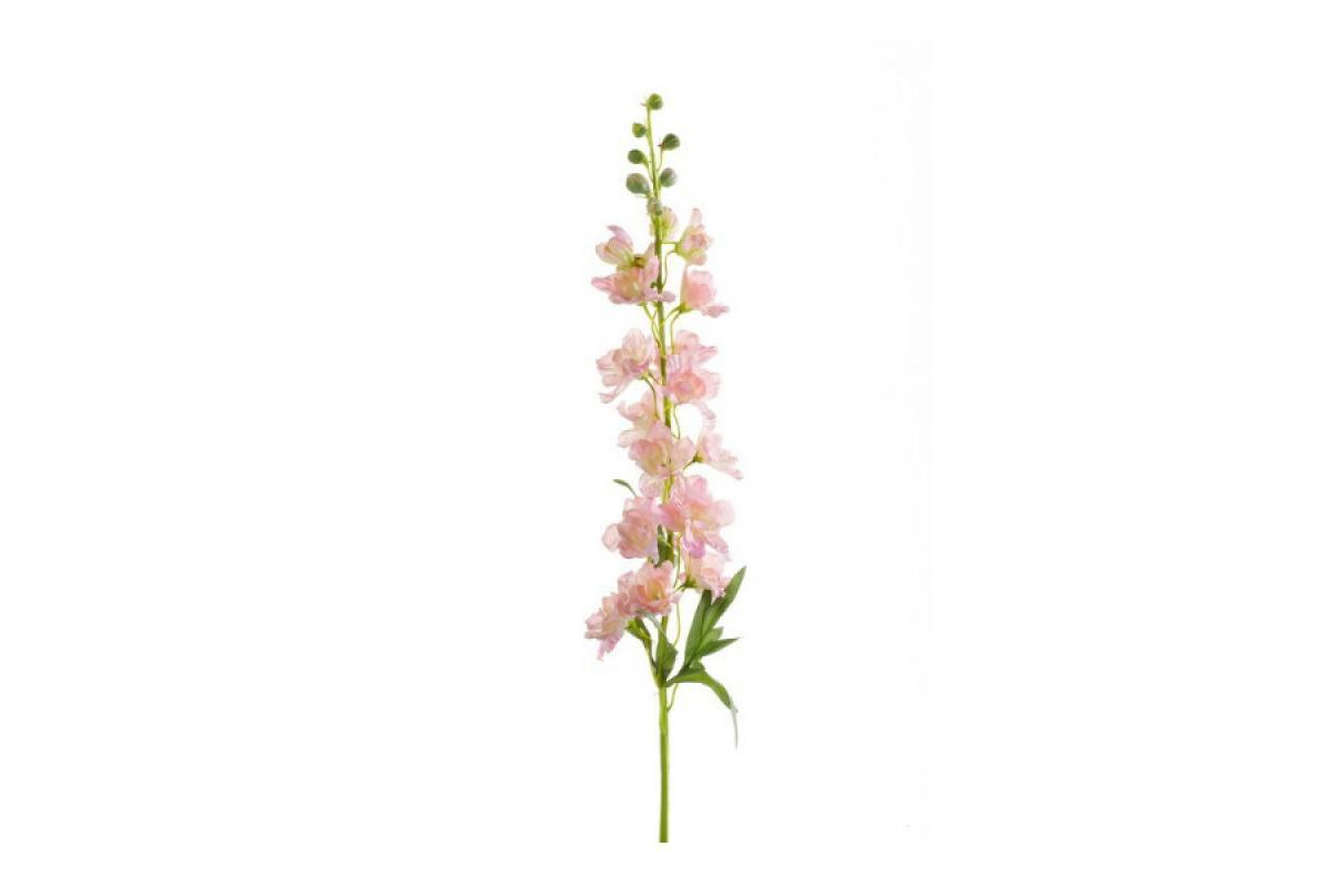 Дельфиниум искусственный розовый 90 см