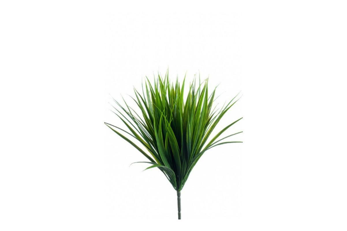 Куст Травы искусственный зеленый 33 см