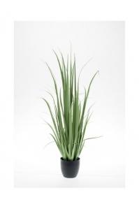 Трава Юкка искусственная в кашпо 120 см